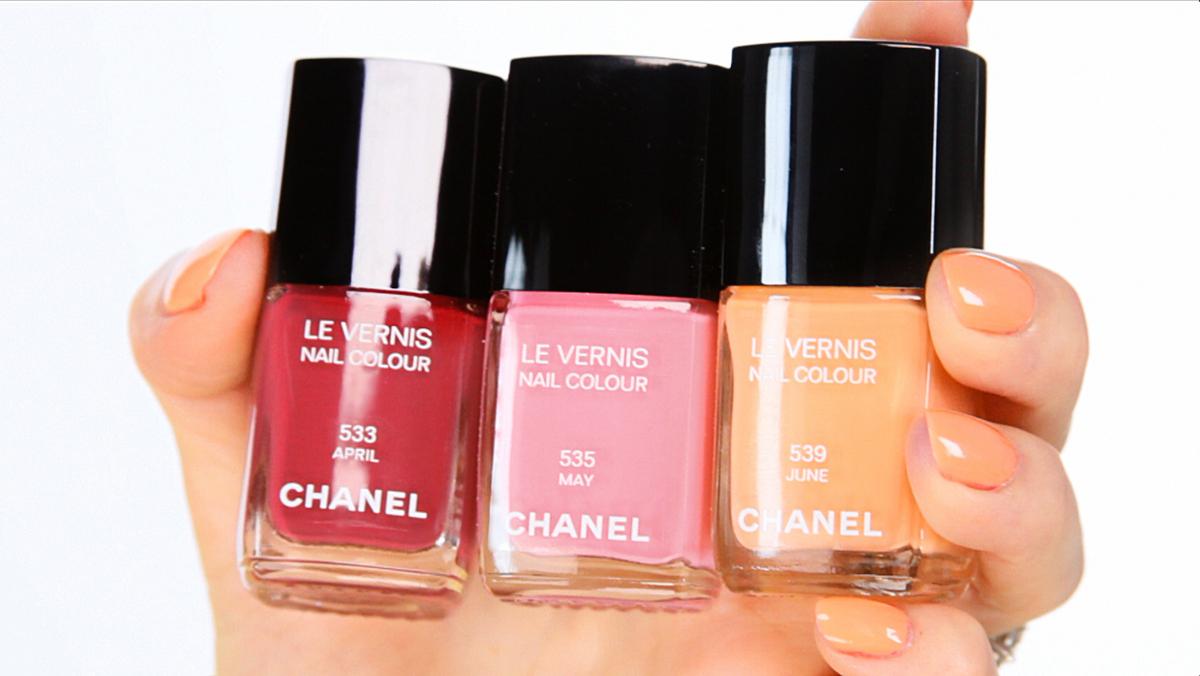 Шанель лак для ногтей палитра цветов